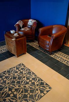 Couleur Tegels Can Design, Design Your Own, Basic Colors, Colours, Handmade Tiles, France, Kitchen Flooring, Animal Print Rug, Tile Floor