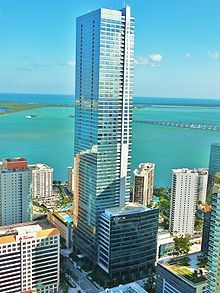 Florida's tallest building, the Four Seasons Hotel and Tower, Brickell (Miami, Florida)