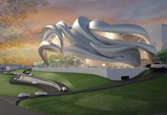 Гости из будущего. 19 самых футуристических проектов архитектуры — Журнал — MyHome