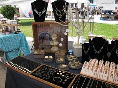 jewelry display - 8th Annual Renegade Craft Fair Brooklyn 2012 by renegadecraftfair, via Flickr