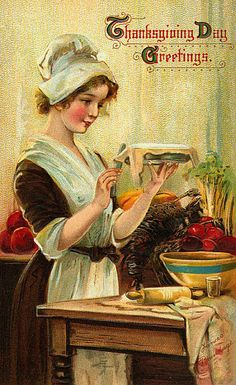 VIntage Thanksgiving Day Greetings
