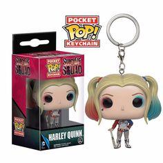 Porte-clés Suicide Squad Pocket POP Vinyl Harley Quinn