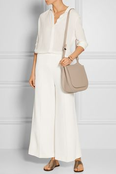 The Row   Hunting 11 textured-leather shoulder bag   NET-A-PORTER.COM