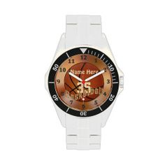 Cool Basketball Watches with YOUR NAME and NUMBER. Basketball Stuff with many being Customizable with YOUR NAME and or NUMBER.  Lots more Custom and Personalized Basketball Gifts CLICK HERE: http://www.zazzle.com/littlelindapinda/gifts?cg=196808750908670951&rf=238147997806552929*/  ALL of Little Linda Pinda Designs CLICK HERE: http://www.Zazzle.com/LittleLindaPinda*/