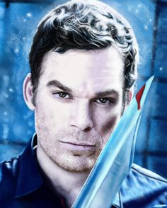 Dexter Morgan Fan Art | dexter morgan by p1xer fan art digital art painting airbrushing movies ...