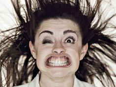 Lithuanian photographer and artist Tadao Cern has been working on a series of hilarious portraits entitled, ahem, Blow Job, that depicts individuals enduring gale-force winds directly to the face. Now this is art. I Love To Laugh, Make Me Smile, Leaf Blower, Haha Funny, Funny Stuff, Funny Shit, Funny Things, Laughing So Hard, Funny Faces