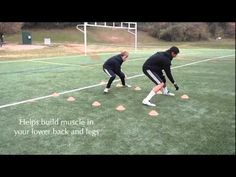 Soccer Drills - Cone Shuttles and Dribbling Obstacle Course
