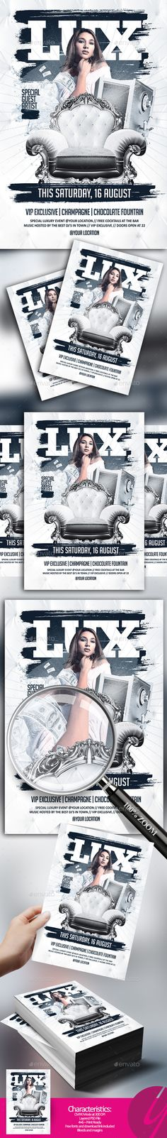 Luxury Event Flyer - Clubs & Parties Events
