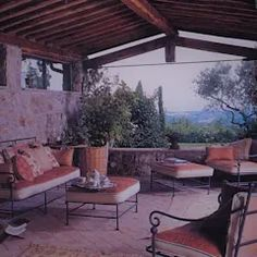 Living esterno di Sabina Casol – Architetto, | homify Country Life, Outdoor Decor, Home Decor, Environment, Home, Modern Patio Design, Decoration Home, Room Decor, Country Living