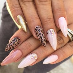 Would be cute on square or semi-squared nails