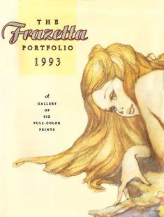 "1977 full Color Plate /""Stranded/"" by Frank Frazetta Fantastic GGA"