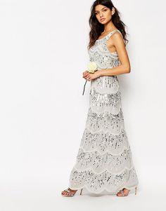 Maya Chiffon Maxi Dress with Embellishment | ASOS