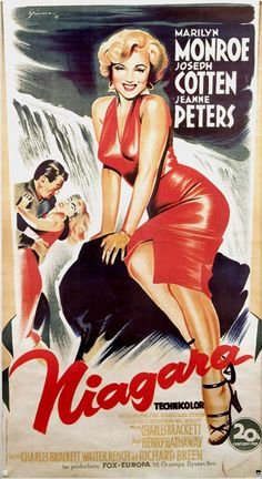 Niagara / Australian movie poster, 1953.                                                                                                                                                                                 Más