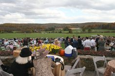 The scene at 75th Fall Virginia Gold Cup