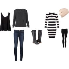 """Looks with Boots"" by fashngirl66 on Polyvore"