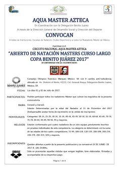"FRANCISSWIM - ESPORTES AQUÁTICOS: CIRCUITO NACIONAL AQUA MASTER AZTECA ""ABIERTO DE N..."