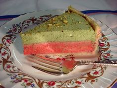 DB: A matcha green tea and raspberry mousse cake | Kitchen Heals Soul