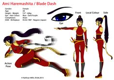 Blade Dash is the fourth character to appear in the comic series, closely followed by her boyfriend Armoured Brawler. Because Ami dreams of becoming a runner one day, she created her character to be one of the fastest in the game. The character is a combination of a cheetah and an assassin. Dash's signature weapon is a segmented blade, this can be used as both a sword and a bladed whip. Dash is often very happy and optimistic, but when fuelled by emotion, she becomes very quiet and…