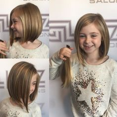 45 Dapper Haircut for Small Girls That are on Fleek Little Girl Bob Haircut, Little Girl Short Haircuts, Haircuts For Long Hair, Little Girl Hairstyles, Hairstyles With Bangs, Kids Bob Haircut, Children Hairstyles, Toddler Hairstyles, Natural Hairstyles