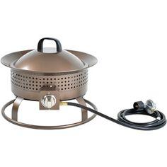 Garden Treasures 20000 BTU 2992in Charcoal Finish Steel Liquid