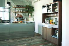 STRADA(ストラーダ) キッチンボード L/スライド棚 | ≪unico≫オンラインショップ:家具/インテリア/ソファ/ラグ等の販売。