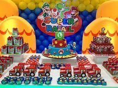 Aniversário Mario Bros