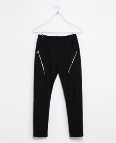 ZARA - MAN - TROUSERS WITH ZIPS