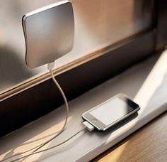 The sun is always there. Outlets aren't. So why not let the sun charge your phone?