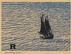 Børge Nees, woodcut ex libris