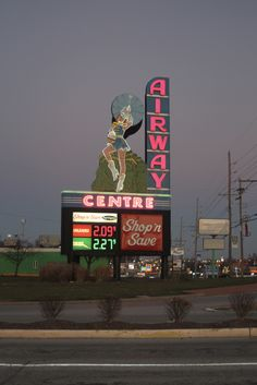 Old drive in sign