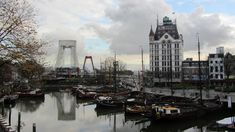 Rotterdam - my favourite Dutch city & the view from the hostel I stayed in! http://ift.tt/2so2IH2