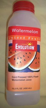 Evolution watermelon juice. So hard to find but so worth it when i do.