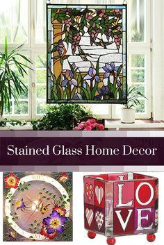 Stained glass home decor is elegant, trendy and timeless.  As evidence of this just look around you.  Many beautiful homes use a combination of stained glass wall decor, stained glass wall hangings and stained glass accent lights to create a vibe that is