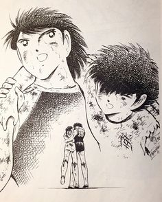 Captain Tsubasa J Captain Tsubasa, Ninja Turtles Art, Teenage Mutant Ninja Turtles, Old Anime, Manga Anime, 3d Dragon Tattoo, Dandelion Wallpaper, Sports Drawings, Fanart