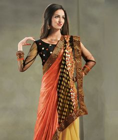 Become the queen of ethnic fashion with this collection of haute and luscious drapes