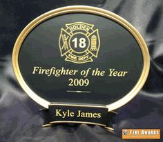 Firefighter Of The Year Legend Award