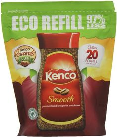 Kenco Really Smooth Refill Coffee 150 g (Pack of Kenco Smooth instant coffee refill pouches. Coffee Label, Amazon Website, Snack Recipes, Snacks, Instant Coffee, Hot Coffee, Pouches, Chips, Smooth