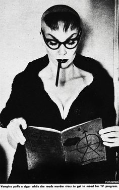 Maila Nurmi a.k.a. Vampira, 1955