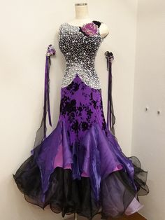 standard purple with stones