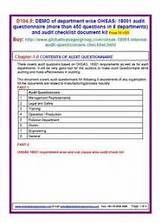Internal Quality Management System
