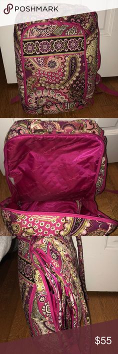 Vera Bradley backpack In great condition. Vera Bradley backpack with compartment for computer Vera Bradley Bags Backpacks