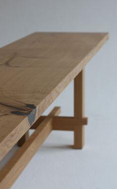 Zen Furniture, Craftsman Furniture, Japanese Furniture, Woodworking Furniture, Furniture Making, Wood Table Design, Coffee Table Design, Japanese Table, Japanese Joinery