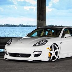 Porsche Panamera with sweet StrasseForged wheels