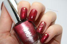 A England - Rose Bower, Essence - A Hint Of Love, Colors by Llarowe - Rednecks & Rubies, Lumene - Herukoita