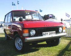 Oldest Range Rover in existance