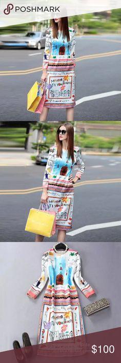 European Style Dress European style runway dress. Cute and trendy Dresses High Low