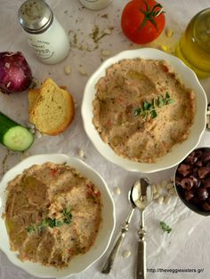 Greek style hummus, the most refreshing, summery, greek hummus ever!