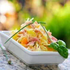 Pineapple Ham Somen Salad