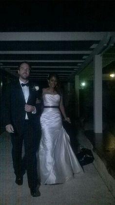 La sposa fanal- my wedding reception dress