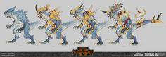 ArtStation - TW: Warhammer 2 - Lizardmen Concepts, Rich Carey